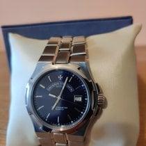 Vacheron Constantin Overseas pre-owned 37mm Blue Steel
