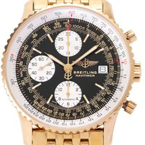 Breitling Yellow gold Automatic 41mm pre-owned Old Navitimer