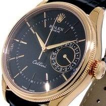Rolex Cellini Date Rose gold Black