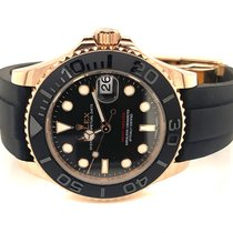 Rolex Yacht-Master 37 Rose gold 37mm Black No numerals United States of America, New Jersey, Little Silver