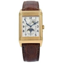 Jaeger-LeCoultre Reverso (submodel) Rose gold 42mm Silver