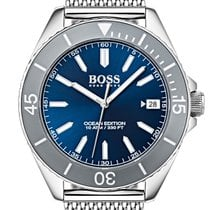 Hugo Boss Steel 42mm Quartz 1513571 new