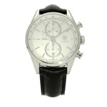 TAG Heuer Carrera Calibre 1887 Steel 41mm Silver No numerals United Kingdom, Liverpool