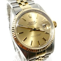 Rolex Datejust Gold/Steel 36mm Champagne No numerals United States of America, California, Sylmar