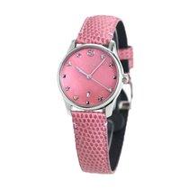 Gucci G-Timeless Сталь 34mm Розовый