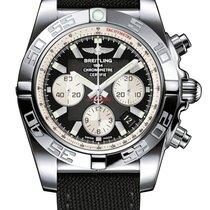Breitling Men's AB011012/B967/103W Chronomat 44 Watch