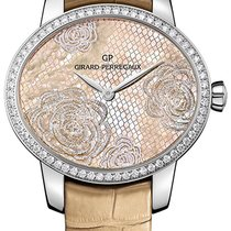 Girard Perregaux Steel Automatic Mother of pearl 37.8mm new Cat's Eye