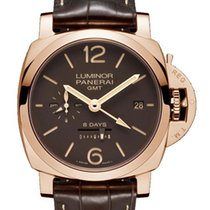 Panerai Luminor 1950 8 Days GMT Red gold 44mm Brown United Kingdom, London