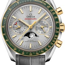 Omega SPEEDMASTER MOONWATCH  MOONPHASE CHRONOGRAPH STEEL AND GOLD