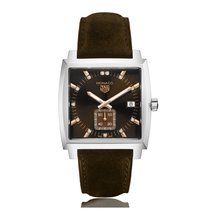 TAG Heuer Monaco Quartz Stainless Steel Brown Dial Ladies...