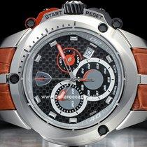 Tonino Lamborghini Steel 45mm Quartz 7800 7803 new