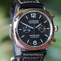 Panerai PAM 369 Radiomir Stainless Steel Automatic Chronograph...