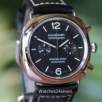 Panerai PAM 369 Radiomir Stainless Steel Automatic Chronograph...