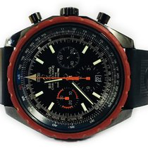 Breitling Chrono-matic Red Bezel Limited Edition