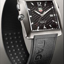 TAG Heuer Professional Golf Watch Titanium 36mm Zwart