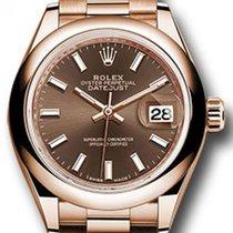 Rolex Rose gold 28mm Automatic Rolex 279165 new