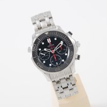 Omega Seamaster Diver 300 M new 2019 Automatic Chronograph Watch with original box and original papers 212.30.42.50.01.001