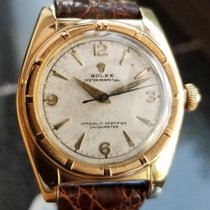 Rolex Signed Billy Graham to Lee Fisher 1950 Solid Gold...