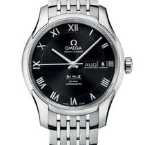 Omega De Ville Co-Axial Acero 41mm Negro