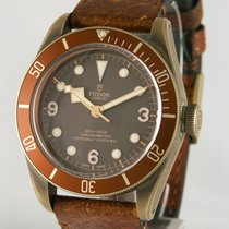 Tudor Bronze Automatic Brown 42mm pre-owned Black Bay Bronze