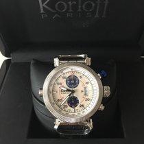 Korloff Steel 45mm Automatic RCA / Q / 002-9789 new