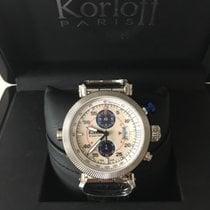 Korloff Acél 45mm Automata RCA / Q / 002-9789 új