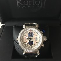 Korloff Steel 45mm Automatic RCA / Q / 002-9789 new