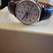 Longines Chronographe 40mm Remontage automatique 2015 occasion Master Collection Argent
