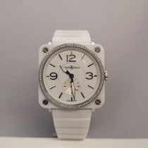 Bell & Ross Women's watch BR S 39mm Quartz pre-owned Watch with original box and original papers