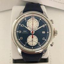 IWC Portugieser Yacht Club Chronograph neu 2020 Automatik Chronograph Uhr mit Original-Box und Original-Papieren IW390507