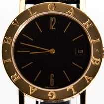 Bulgari Bvlgari 18K Solid Gold Men's 35mm- Box & inhouse...