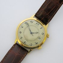 Jaeger-LeCoultre DUNHILL Rare 1960s Mens Solid 18k Gold...