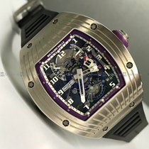Richard Mille White gold Manual winding Transparent pre-owned