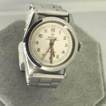 Rolex 30mm Manual winding 1940 pre-owned Oyster Precision White