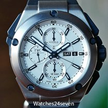 IWC Ingenieur Double Chronograph Titanium Titânio 45mm