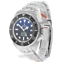 Rolex Chronometer 44mm Automatic 2016 pre-owned Sea-Dweller Deepsea Black