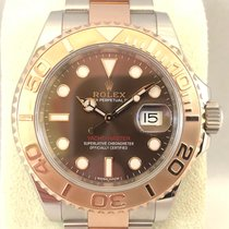Rolex Yacht-Master 116621 choco dial / steel/pink gold / 40mm