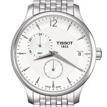 Tissot Tradition Staal 42mm Zilver