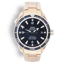 Omega Seamaster Planet Ocean pre-owned Rose gold