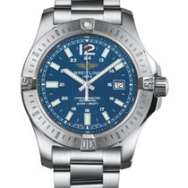 Breitling Colt Automatic Steel 44mm Blue Arabic numerals United States of America, New York, New York
