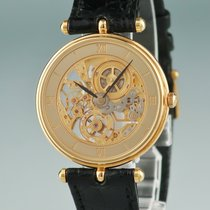 Van Cleef & Arpels Yellow gold 31mm Manual winding pre-owned