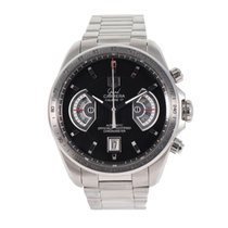 TAG Heuer Grand Carrera Staal 43mm Zwart