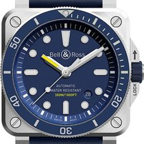 Bell & Ross BR 03 new Automatic Watch with original box BR-03-92-DIVER-BLUE