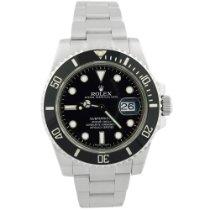 Rolex Submariner Date Steel 40mm Black No numerals United States of America, California, Fullerton