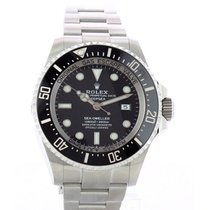 Rolex Sea-Dweller Deepsea Stal 44mm Czarny