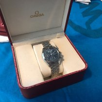 Omega Speedmaster Day Date pre-owned 39mm Blue Date Month Steel