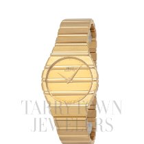 Piaget Polo pre-owned 30mm Champagne Yellow gold