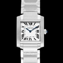 Cartier Tank Française new Quartz Watch with original box and original papers WSTA0005
