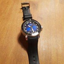 Tissot Seastar 1000 rabljen Plav-modar Datum, nadnevak Kaučuk