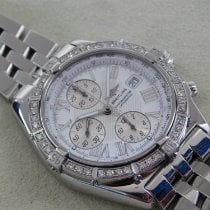 Breitling Crosswind Racing Acero 44mm Blanco Romanos
